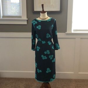 Boden Floral Midi Dress